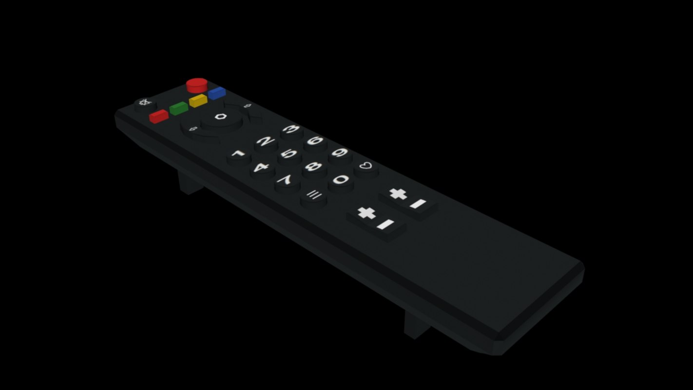 tv remote 3d 3ds