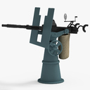 anti-aircraft guns 3D models