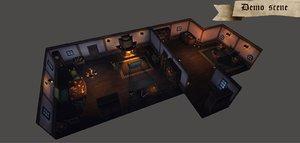 fantasy pack furniture 3d max