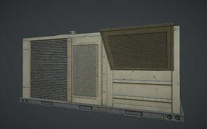 3d industrial ac unit