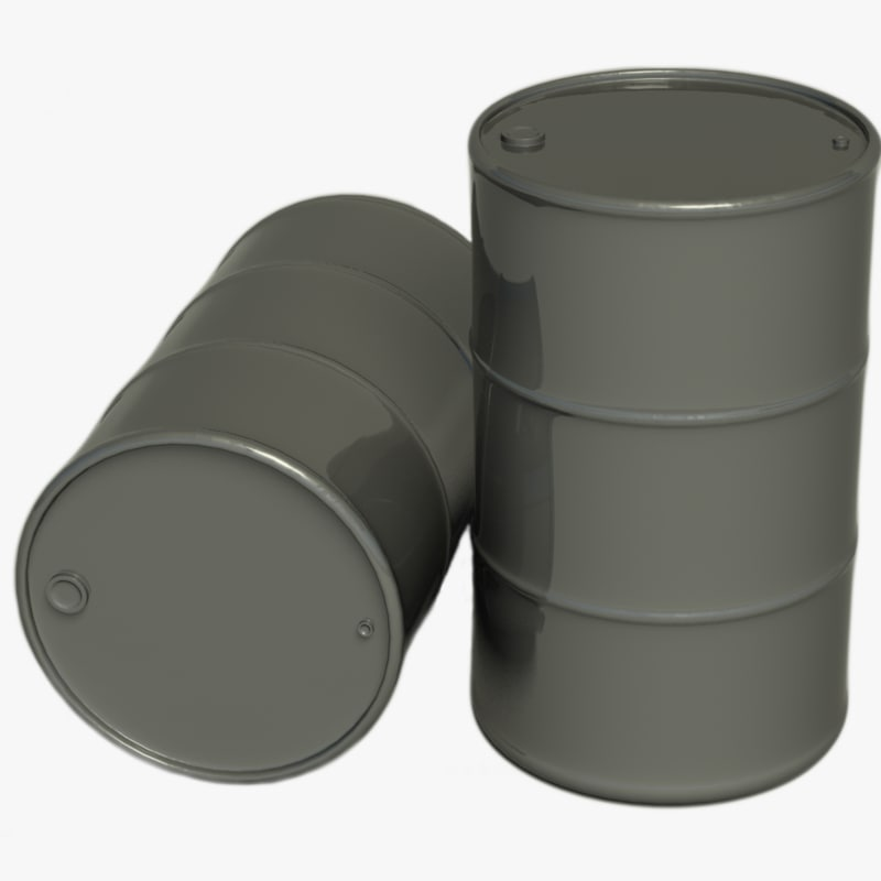 3d drum metallic materials