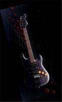 3d model guitar stratocaster