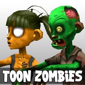 cartoon zombies max
