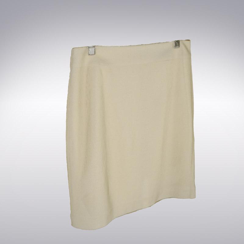 3d model skirt scanning