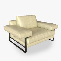 3ds max arketipo ego sofa