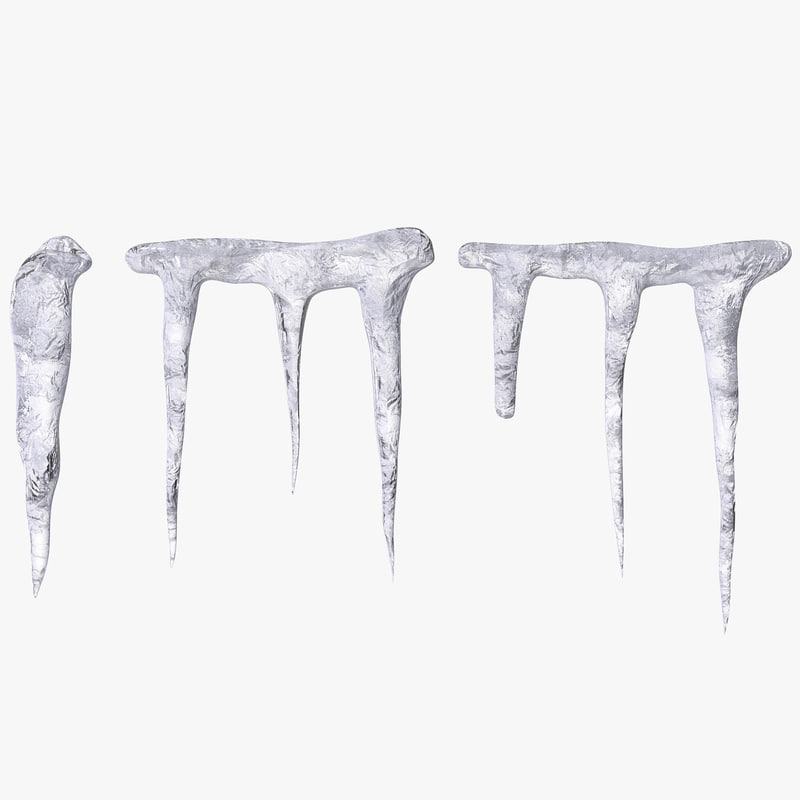 3d icicles