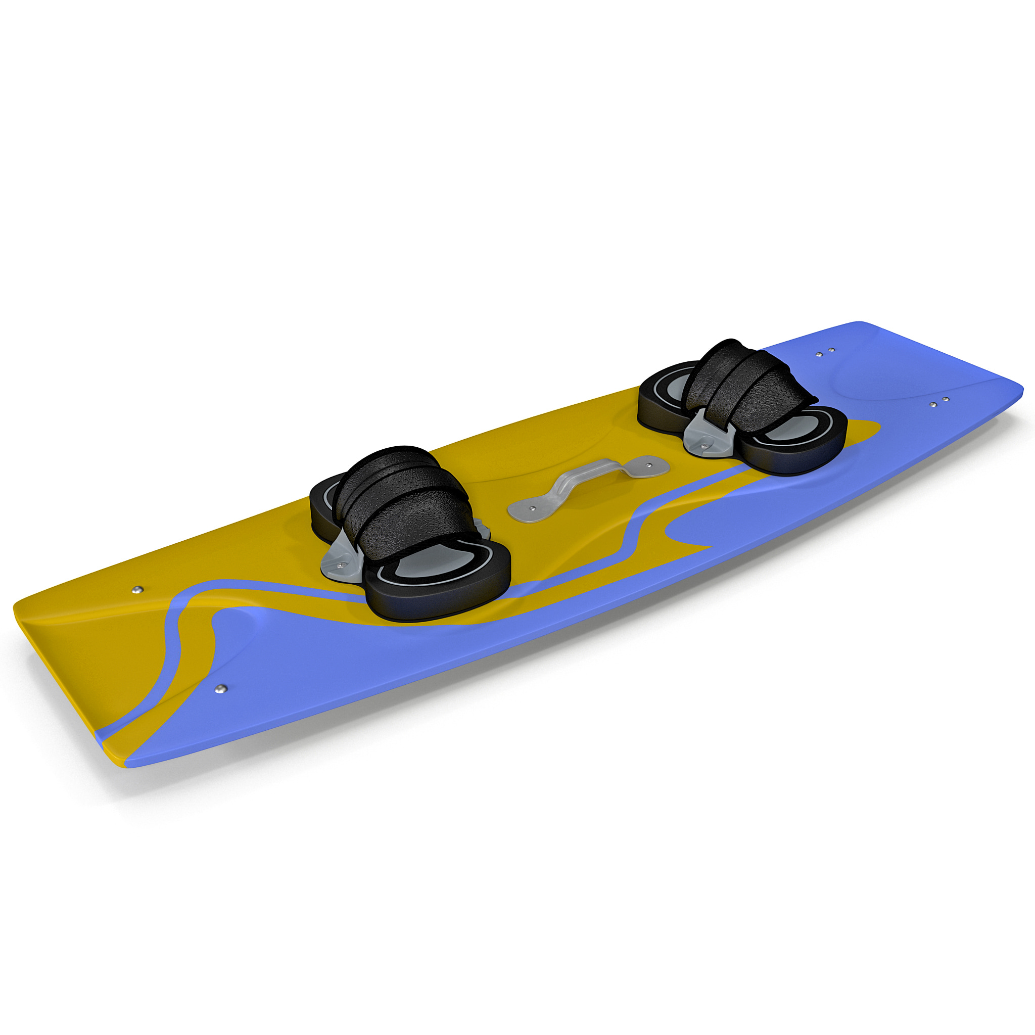 kitesurf board 3d model