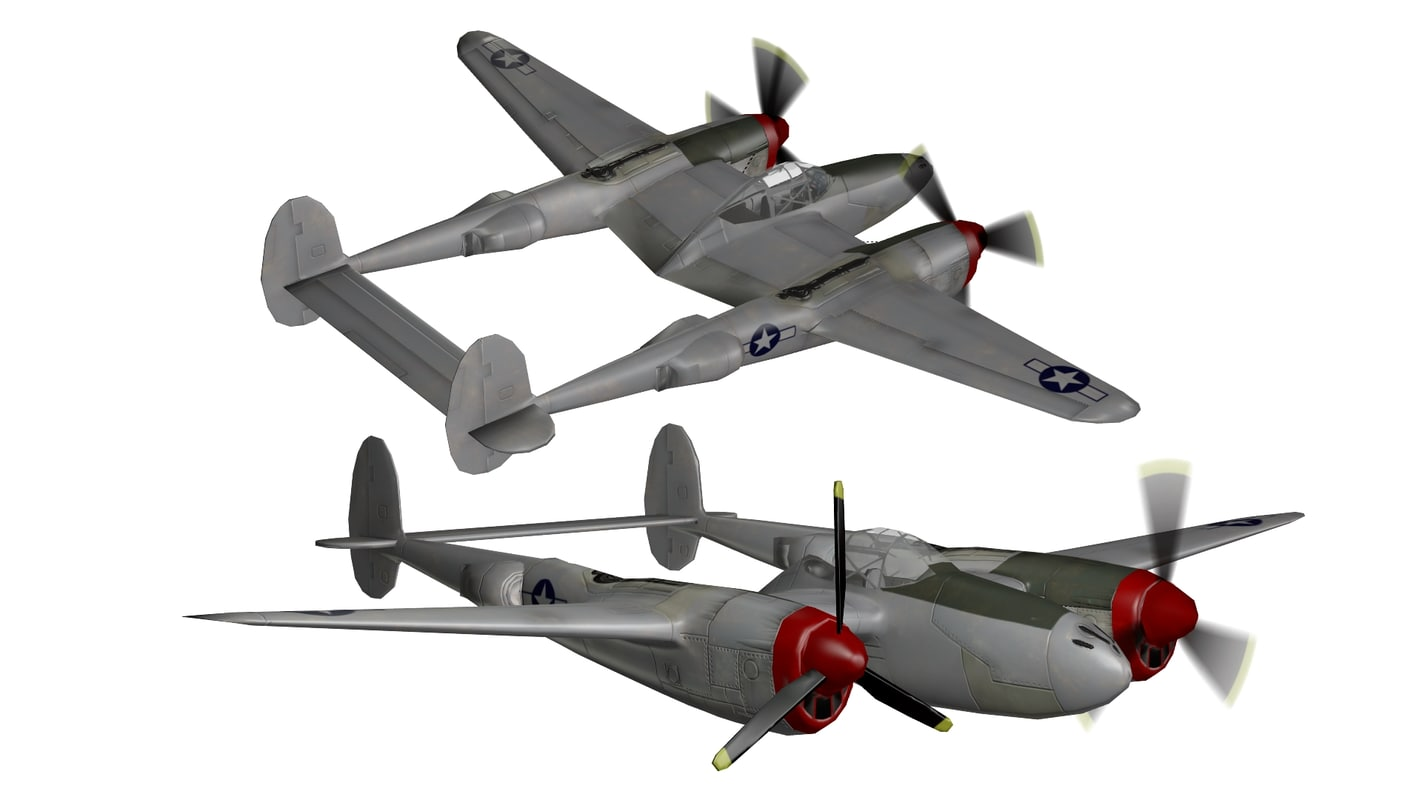 3ds p-38 lightning