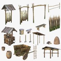 Medieval Village Content