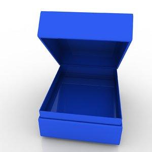 3d model of endless diamond box