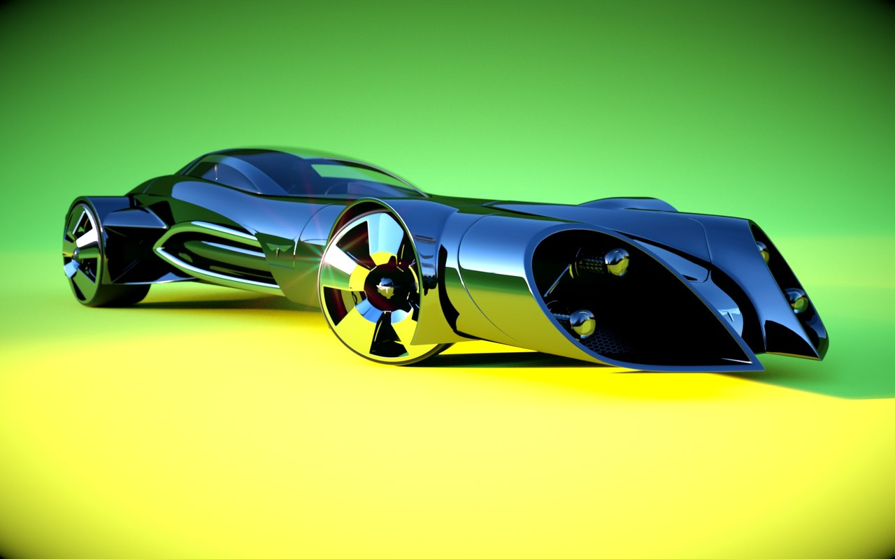 3d model car originally designed
