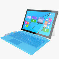 Microsoft Surface Pro 3 + Touch Cover