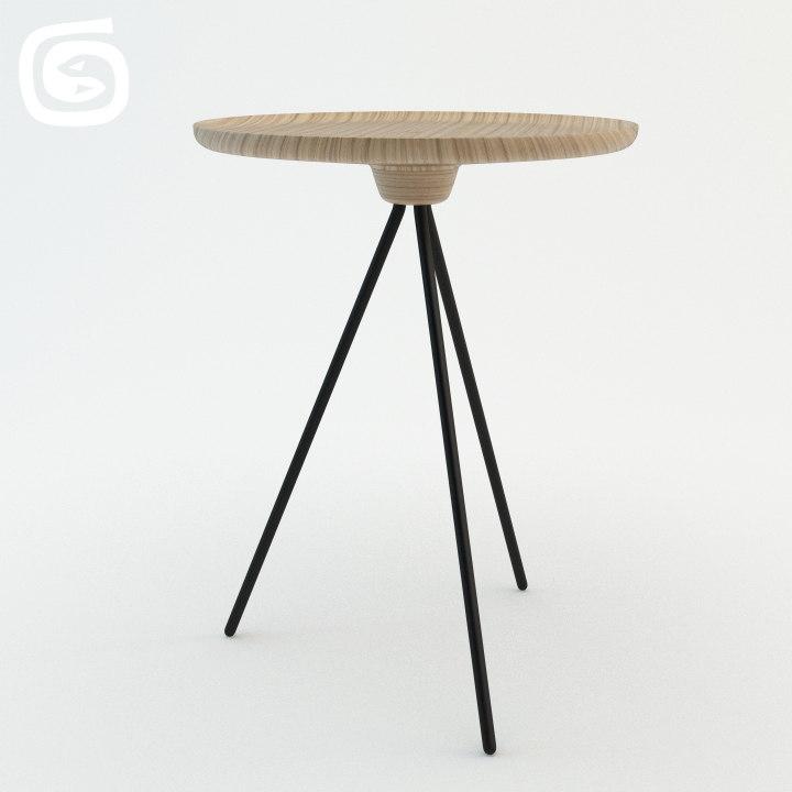3d model key table