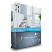 CGAxis Models Volume 47 Blinds C4D
