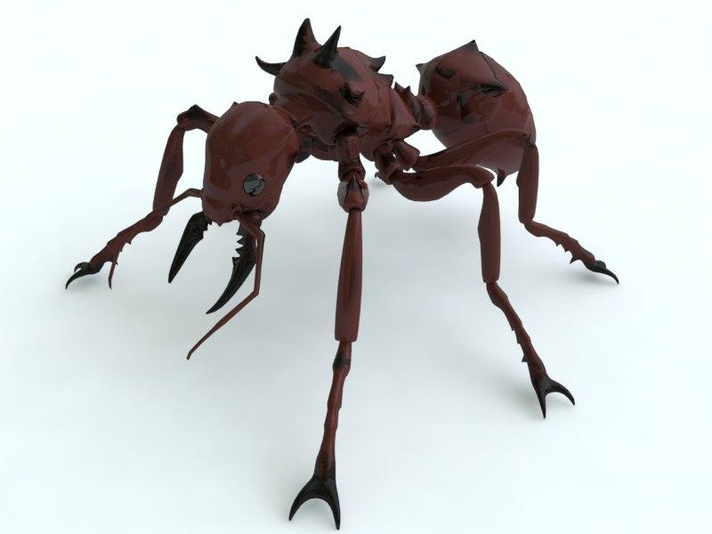3d model ant killer