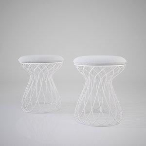 re-trouvé stool designed max