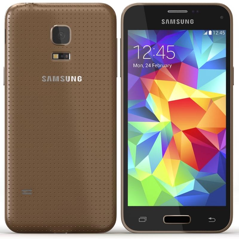 3d samsung galaxy s5 mini model