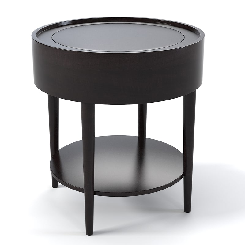 Nice Schnadig Troy Round End Table 3901 330