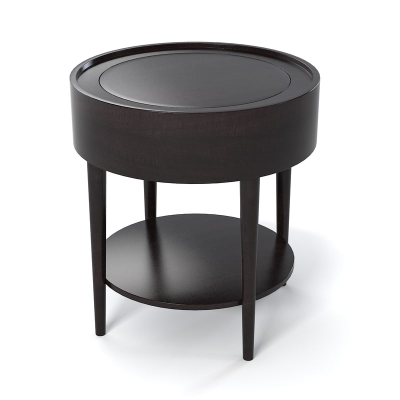 Schnadig Troy Round End Table 3901 330