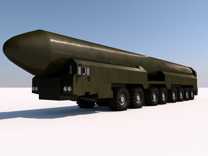 3d ss-27 missiles russia