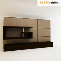 tv cabinet 3d model