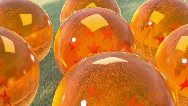 3d dragonballs