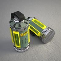 3d grenade x