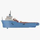 platform supply vessel 3D models