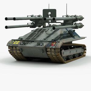 3d model of m50 ontos