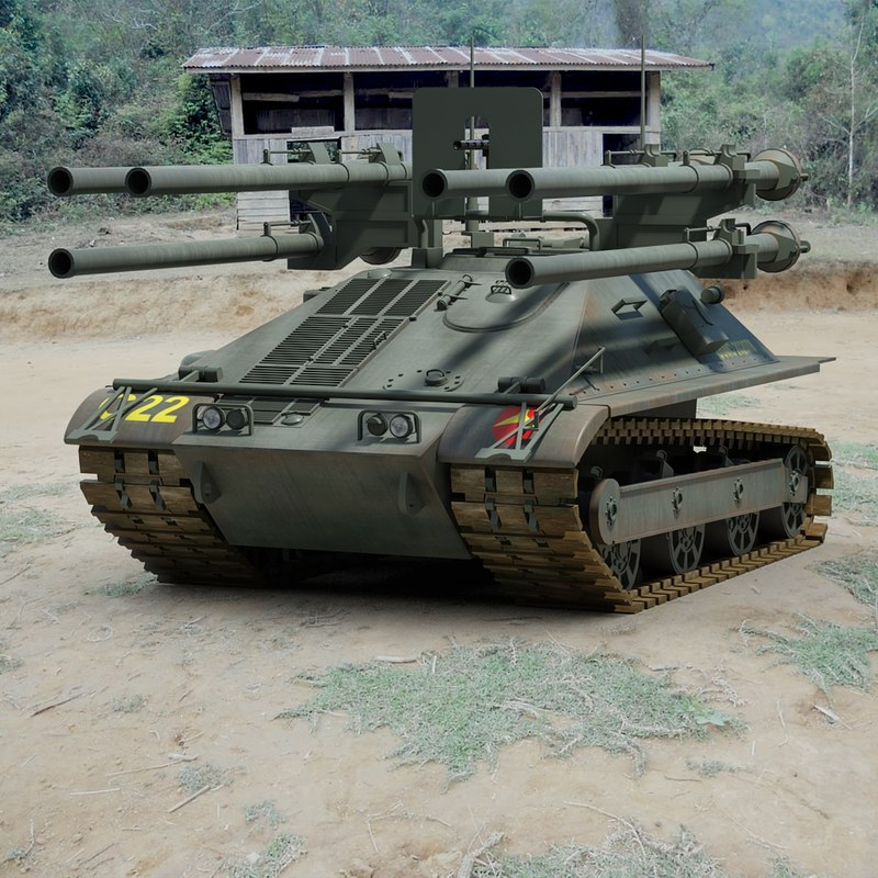 3d model of m50 ontos