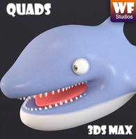 characters cartoon dolphin max