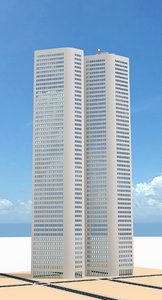 skyscraper nr 21 3d model