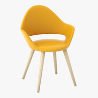 soft-l armchair 3ds