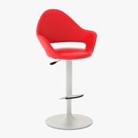 3d model soft-sg bar stool