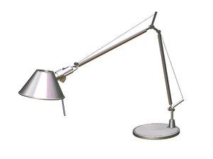 3d model tolomeo desk lamp