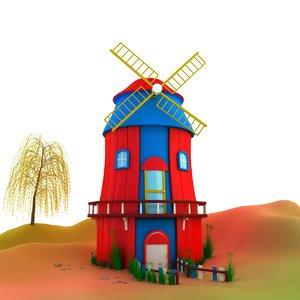max small windmill house