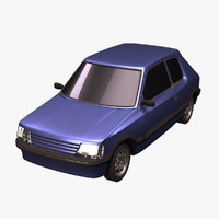 3ds max standar compact car