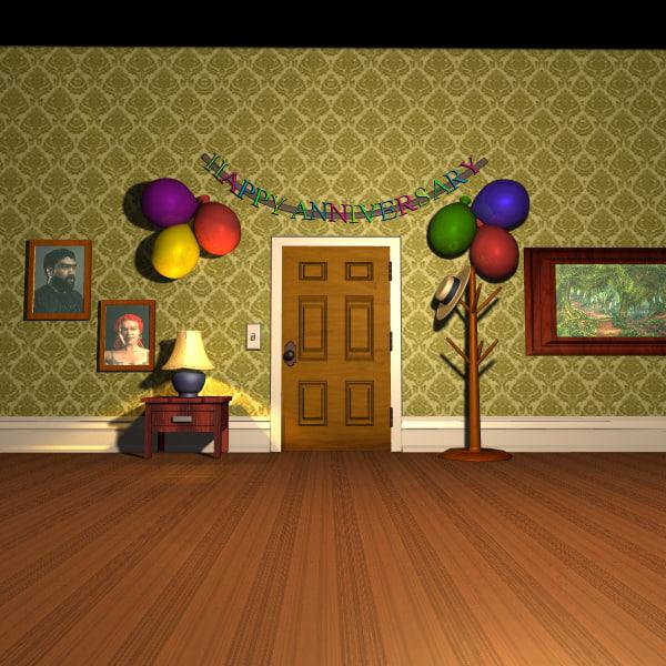 set door lighted ma