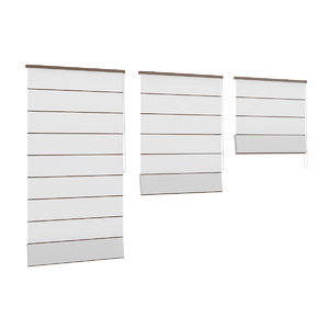 white window blinds 3d max