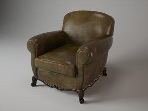 max 127-03 marseilles club chair