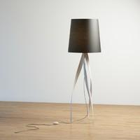 3d medusa lamp