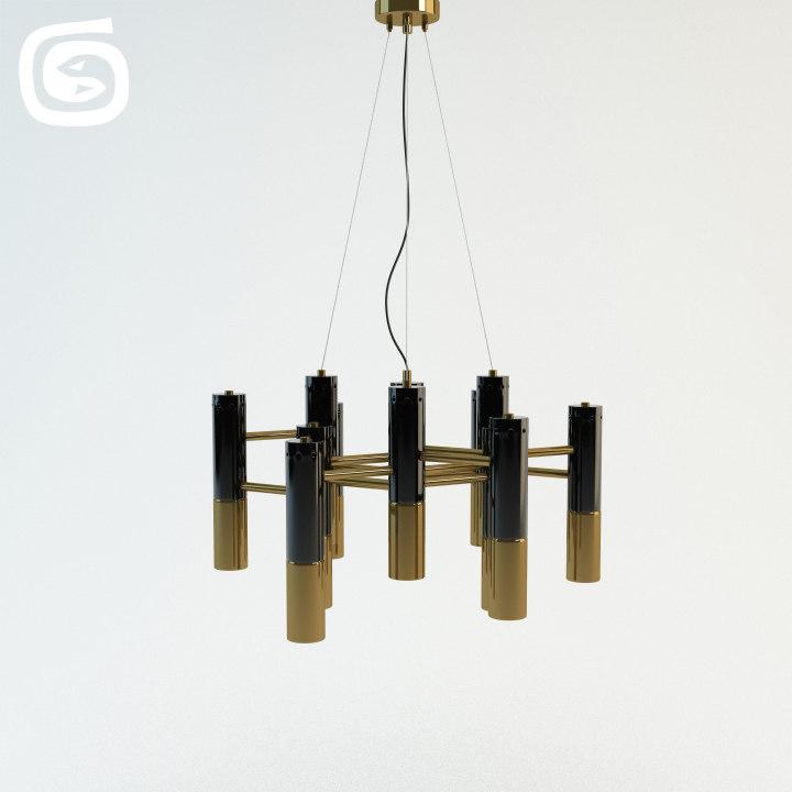 3d model ike lamp
