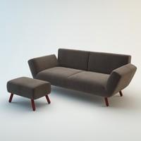 3d dr op sofa model