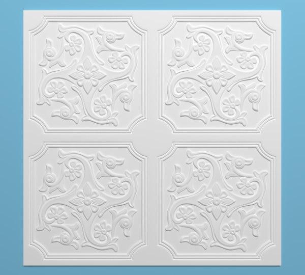 ceiling tiles 3d model