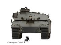 3d tank challenger