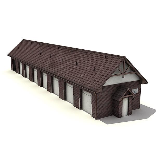 low- warehouse garage