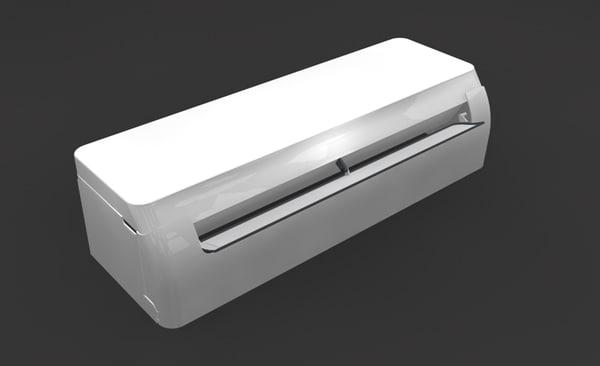 3d air conditioner indoor unit model