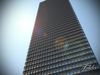 skyscraper modular mentalray 3d c4d