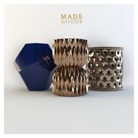 ceramic stool madegoods 3d model