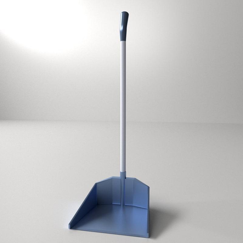 dust pan 3d model